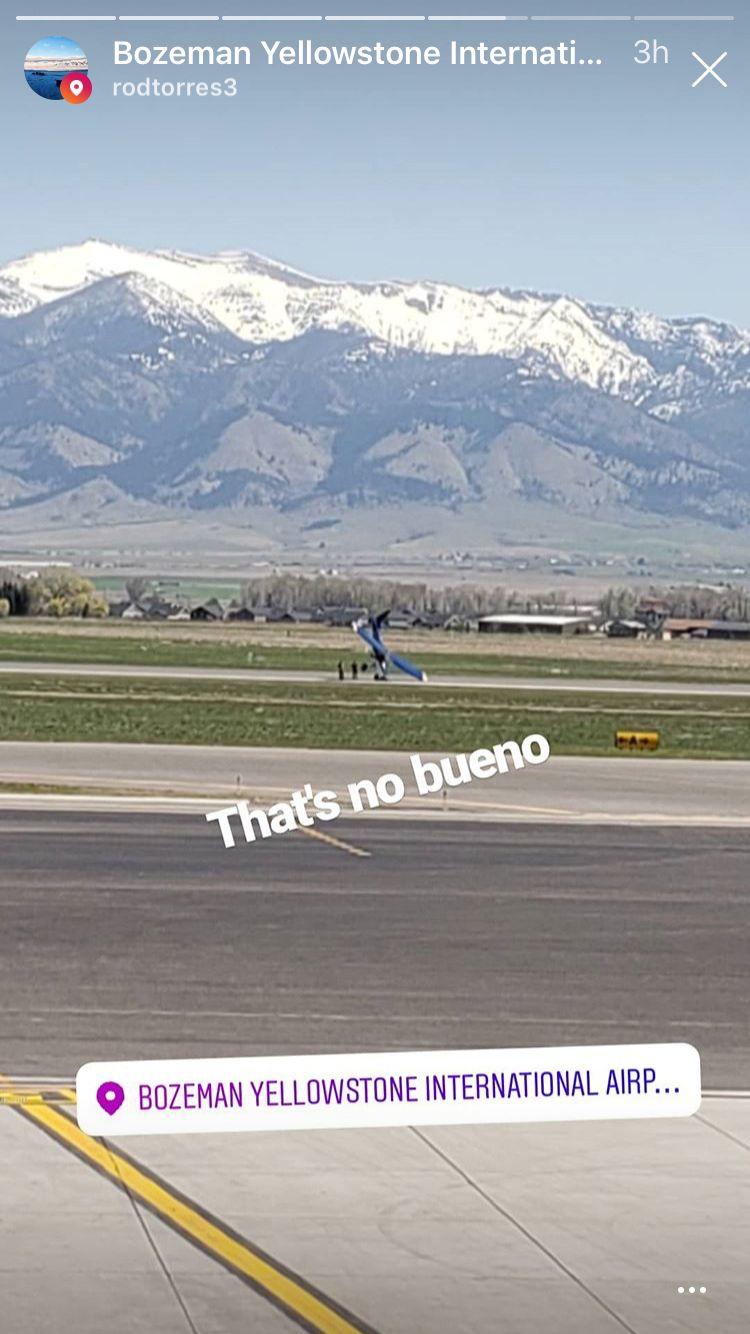 Bozeman airport airplane crash