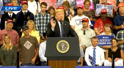 UPDATE: #PlaidShirtGuy from Trump rally steps forward