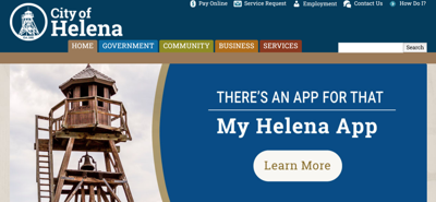City of Helena launches new website