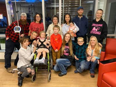 Flathead Valley family shares hospital photo, condition update of girl hit by car