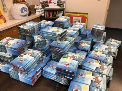 Free books headed home with Bozeman first grade students