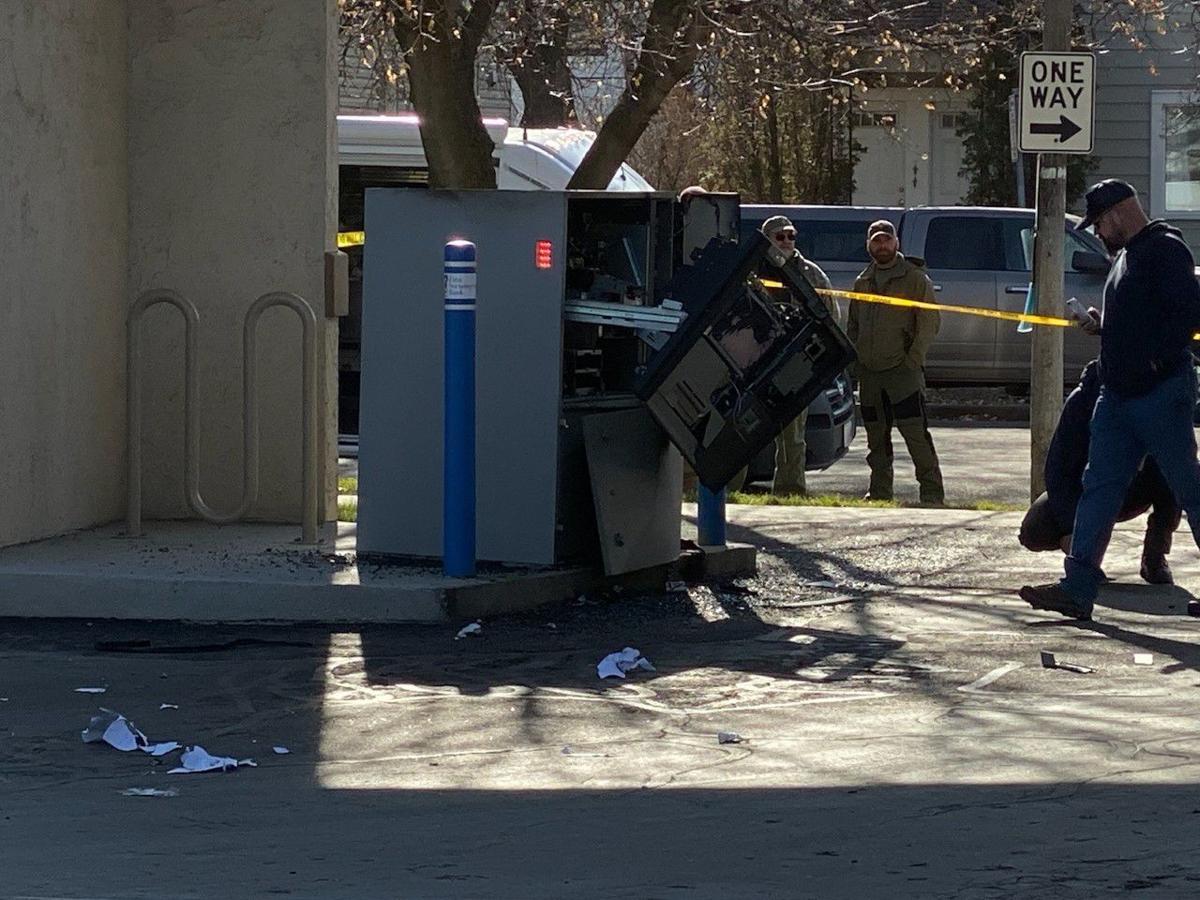 Drive-thru ATM explosion