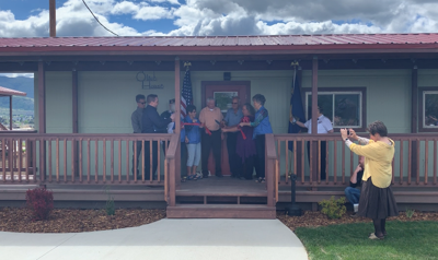 butte homeless shelter ribbon cutting