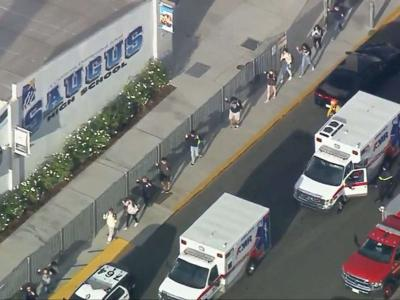 School shooting reported in California