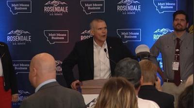 Matt Rosendale concedes
