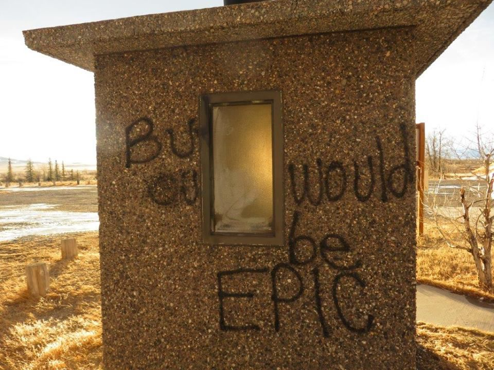 Eureka Vandalism 2