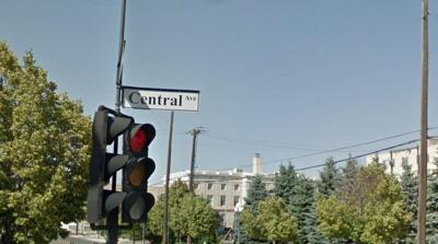 Central Avenue Street Sign