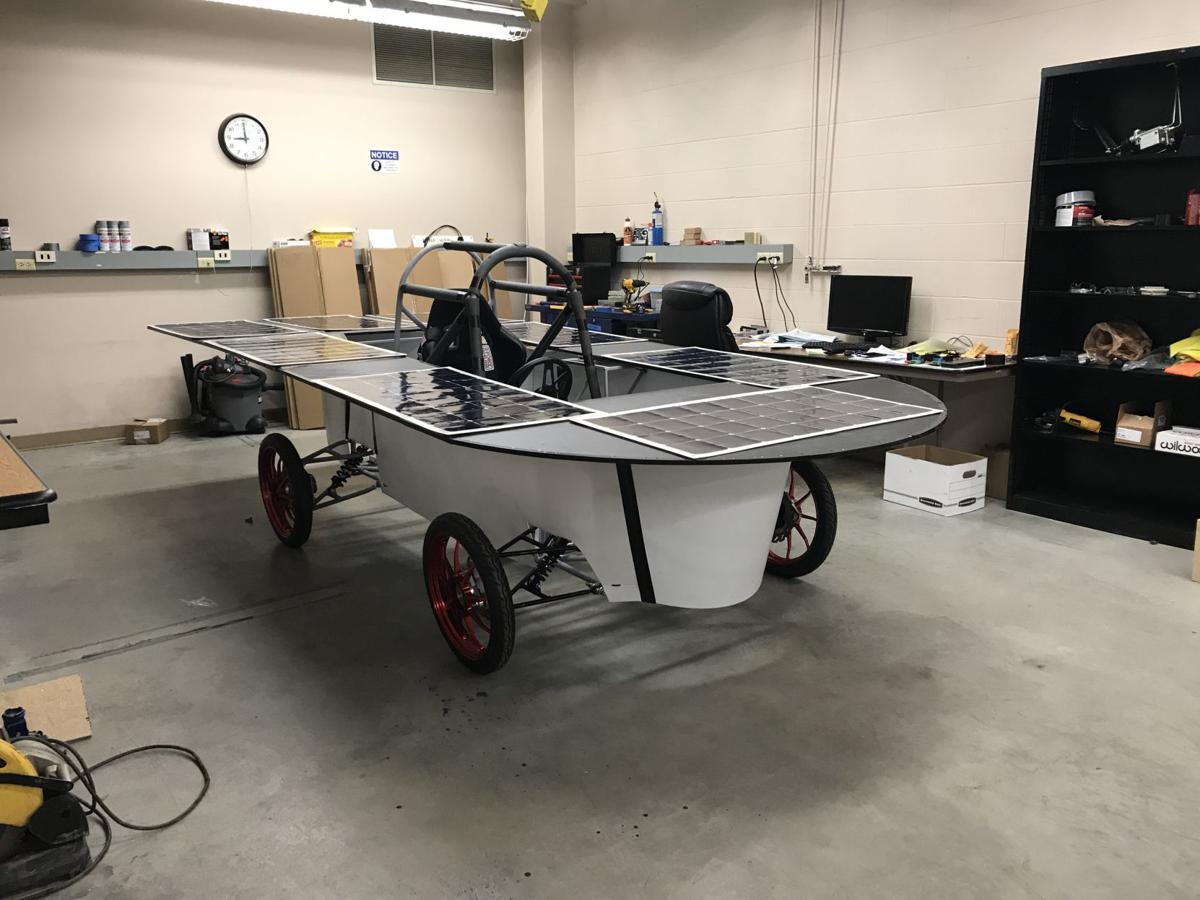 MSU makes car that runs on solar energy