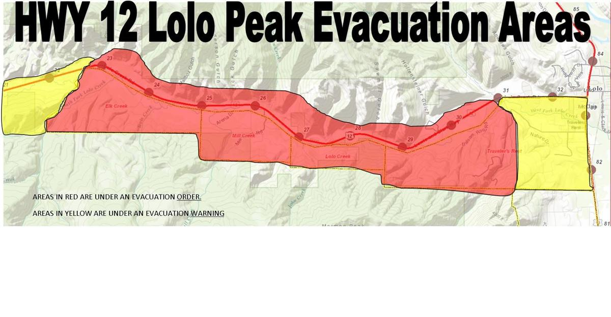 New Evacuations Ordered Near Lolo Peak Fire For 300 400 Homes News