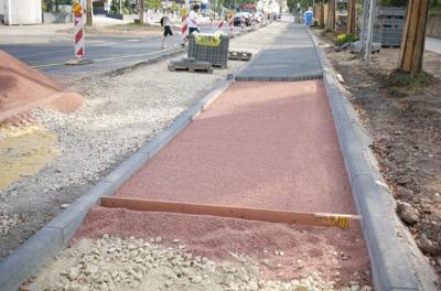 sidewalk construction neighborhood generic
