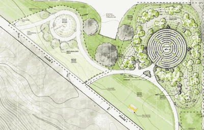 Bozeman Library to open new Labyrinth to be used as place of peace and for privacy