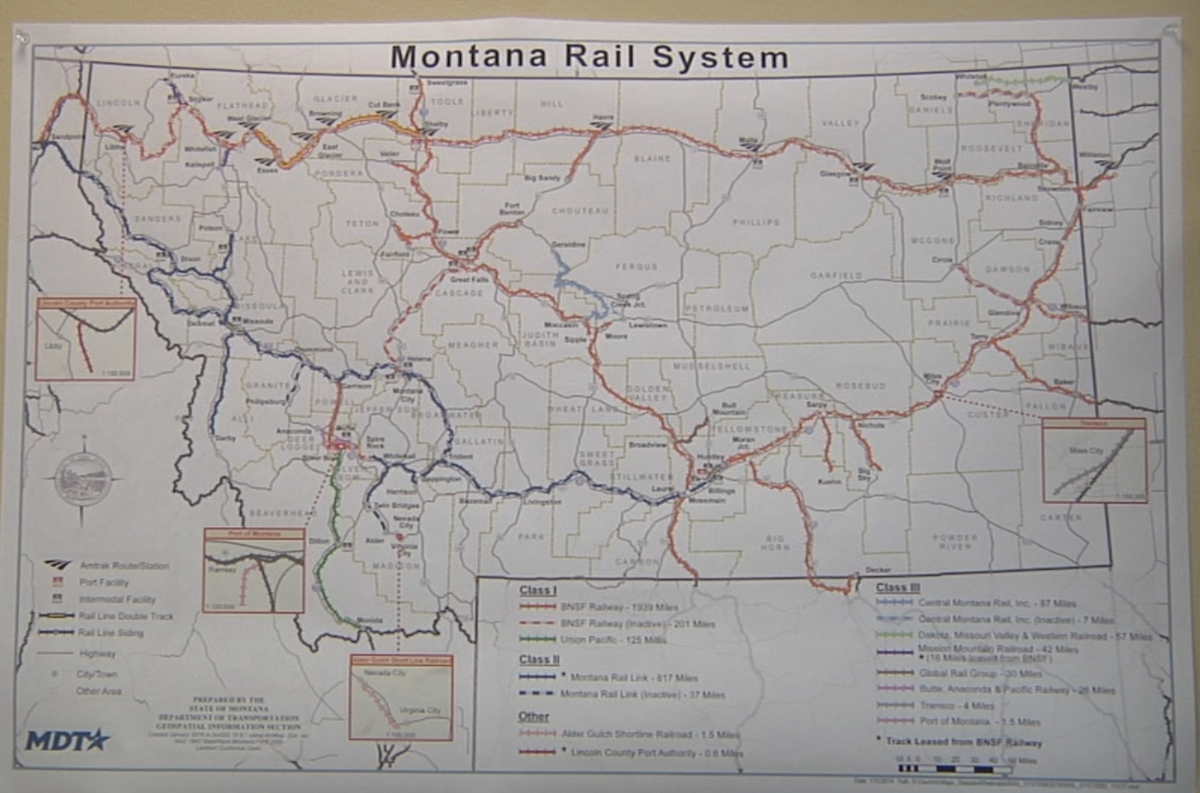 Missoula commissioner wants to bring back passenger trains to Southern Montana