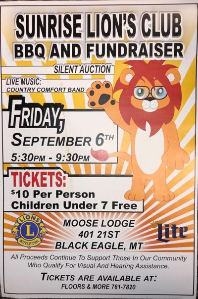 Sunrise Lion's Club Poster