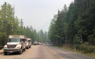 Smoke from Howe Ridge Fire complicates firefighting in Glacier Park