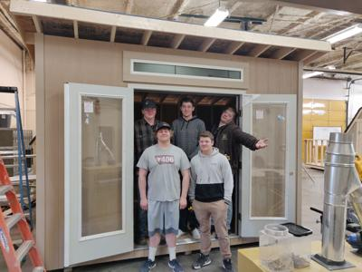 Great Falls Home & Garden Show: Student-built shed being auctioned off