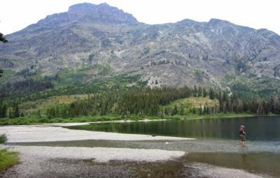 pray lake glacier national park