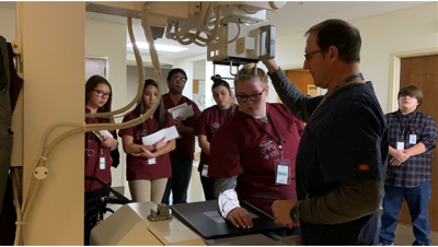 Lake County high school students get hands-on experience at Ronan hospital