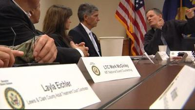 Senator Daines tackles drug epidemic, says meth the main issue in Montana