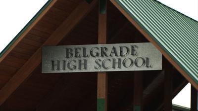 Belgrade High School entrance