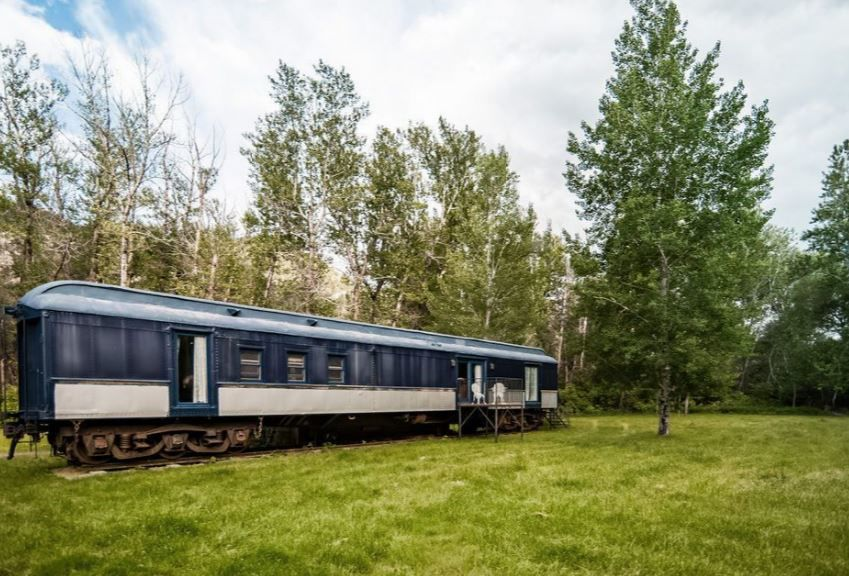 For sale: Historic train car turned into a house near the