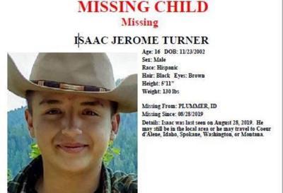 missing idaho boy isaac turner
