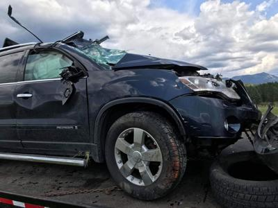 Six people hospitalized in head-on collision between SUV and semi