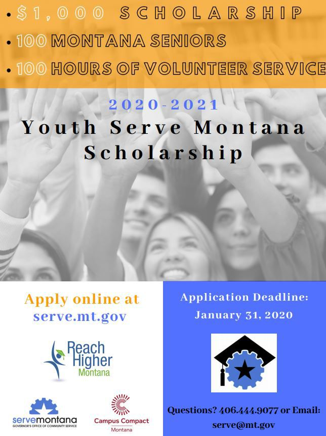 Youth serve montana poster