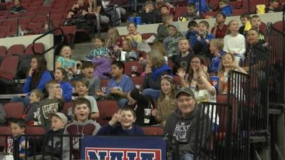 Young fans bring energy to daytime NAIA games