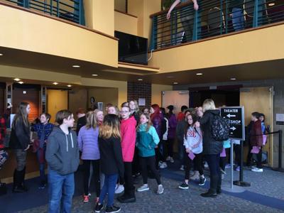 6th graders at Big Sky Documentary Film Festival