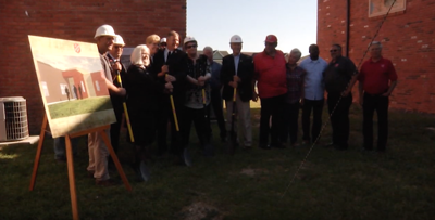 Salvation Army breaks ground on new wing