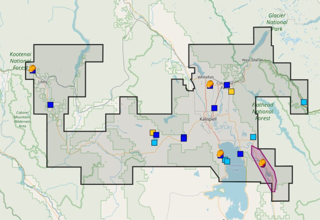 Flathead Electric Power Outage Map.Hundreds Of People Without Power In The Flathead Valley Due To Heavy