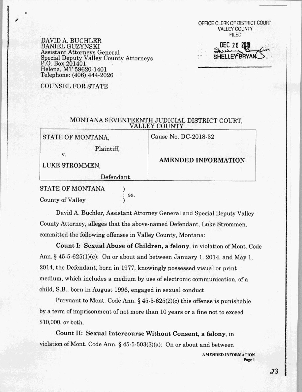 Luke Strommen Case Docs