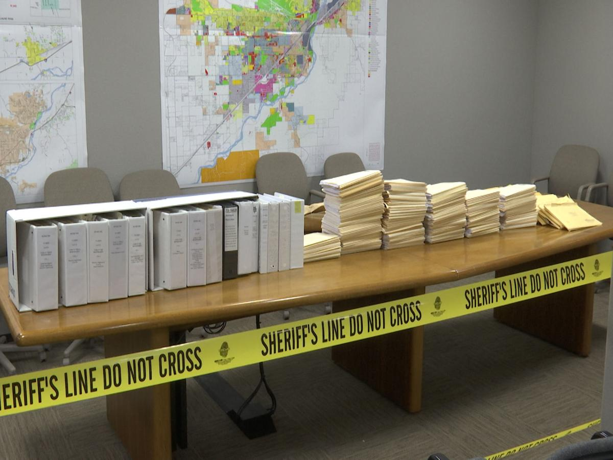 Files from the decade old double-homicide case