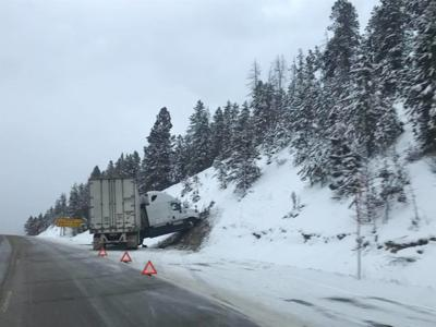 Slideoffs, crashes reported on snowy roads in Butte and Homestake Pass