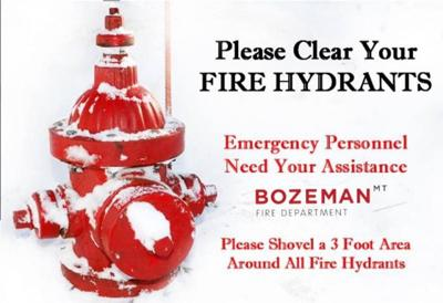 Bozeman Fire asking for your help as more snow moves into the area