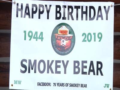 U.S. Forest Service celebrates Smokey Bear turning 75