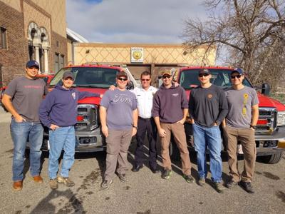 Helena Fire Department California crew