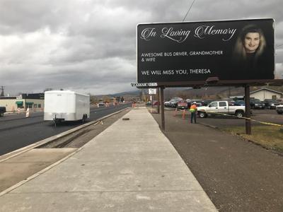 Missoula billboard remembers beloved Mountain Line bus driver