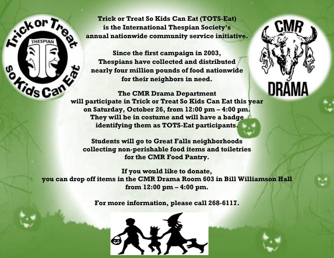 CMR Trick or Treat So Kids Can Eat