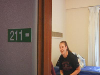 The University of Montana welcomes freshman on Move in Day