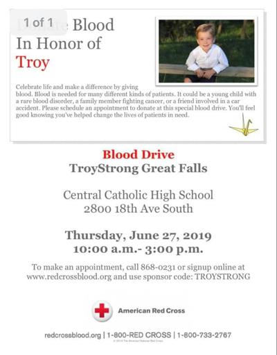 TroyStrong Blood Drive in Great Falls