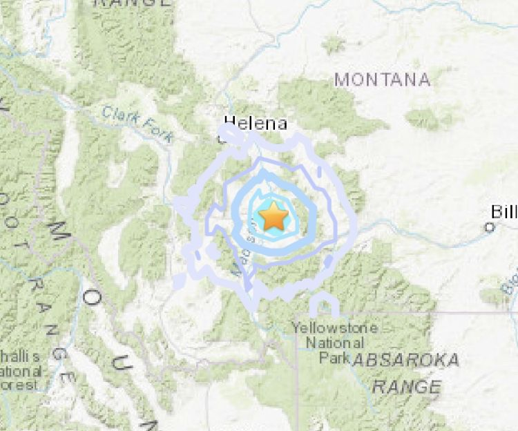Manhattan earthquake epicenter