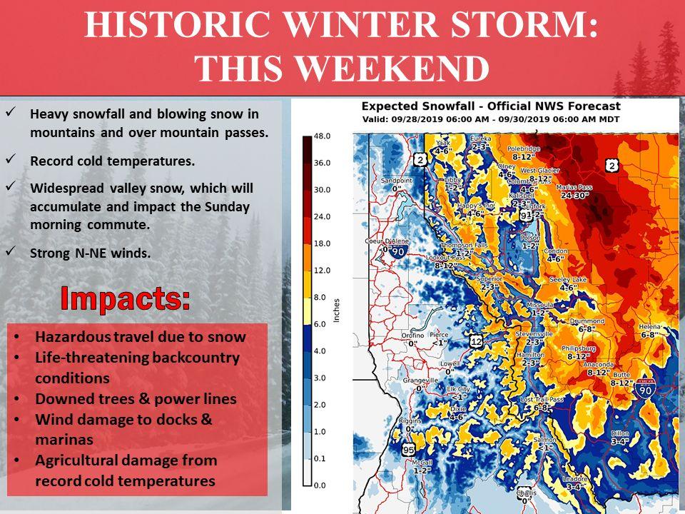 historic storm alert