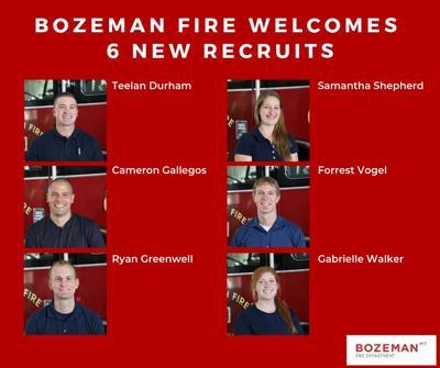 Bozeman Fire welcomes six new members