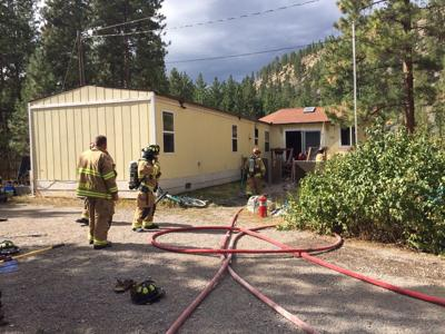 Kitchen fire spreads in Bonner home