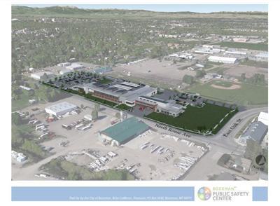 Bozeman Public Safety Center design