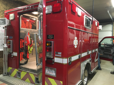 Hand-me-down helps Lincoln Volunteer Fire Rescue