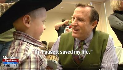 Dr. Fausett saved my life