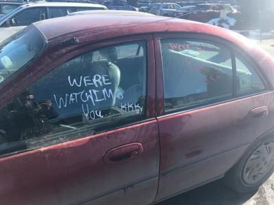 UPDATE on hate speech found on African-American veteran's car in Bozeman