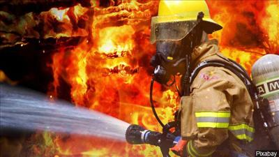 Fire Crews respond to large fire late Monday night